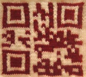 Greta Grip Knitted QR Codes