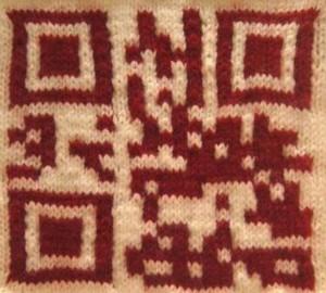 Greta Grip Knitted QR Codes