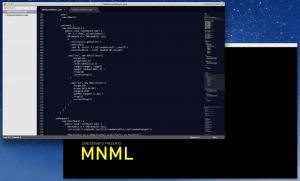 MNML Screenshot